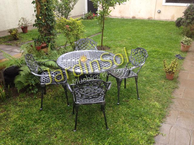 Jardinsol muebles de jard n hogares y salamandras for Aluminio productos de fundicion muebles de jardin