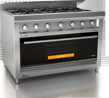 Jardinsol linea mr cheff morelli for Modelos de cocinas industriales