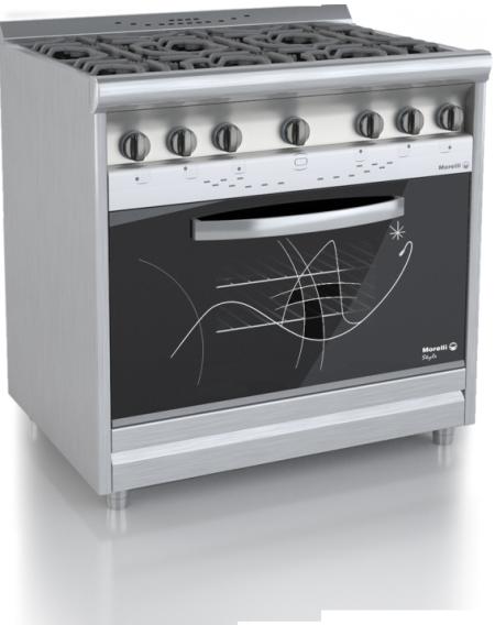 Jardinsol linea style morelli for Cocinas industriales modernas